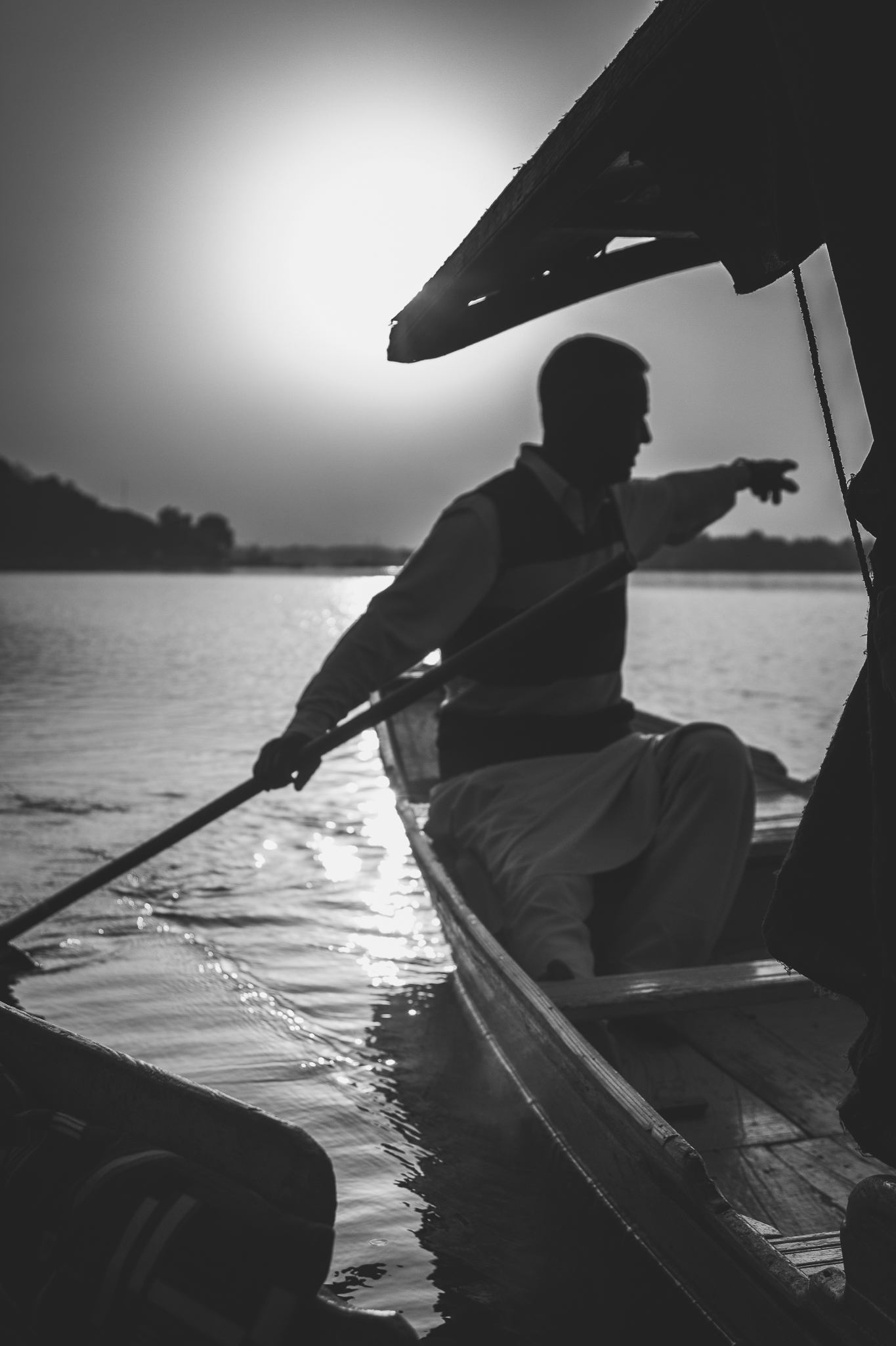 Shikara at Dal Lake,Kashmir